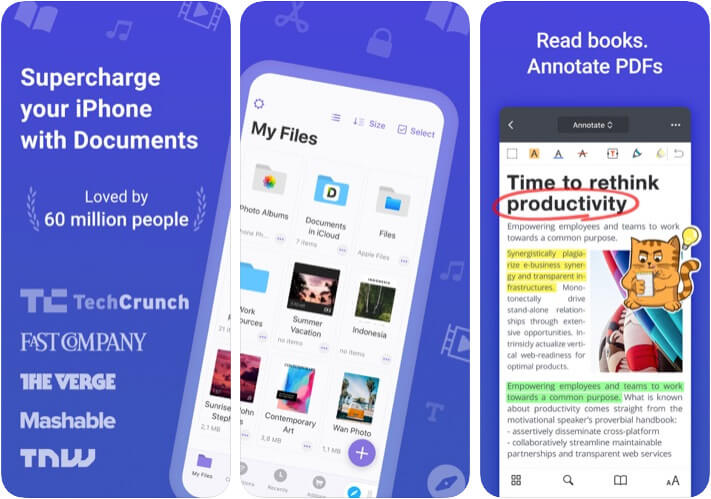 Documents by Readdle iOS App Screenshot