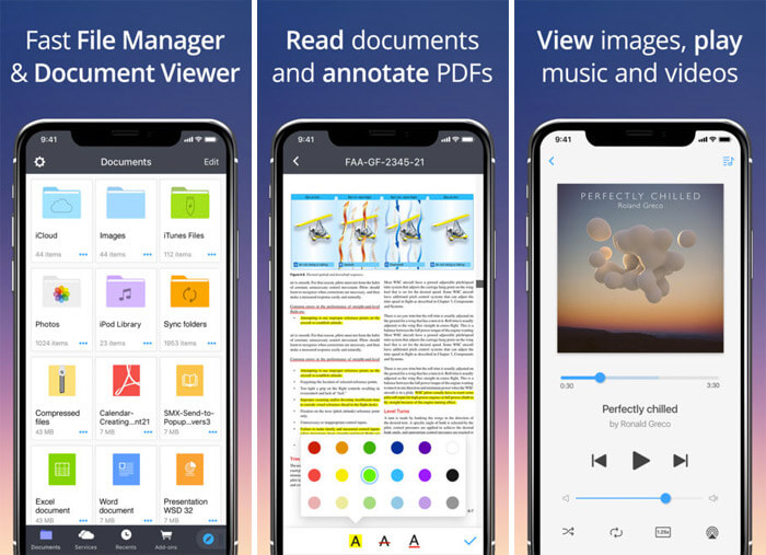 Documents by Readdle iPhone and iPad App Screenshot