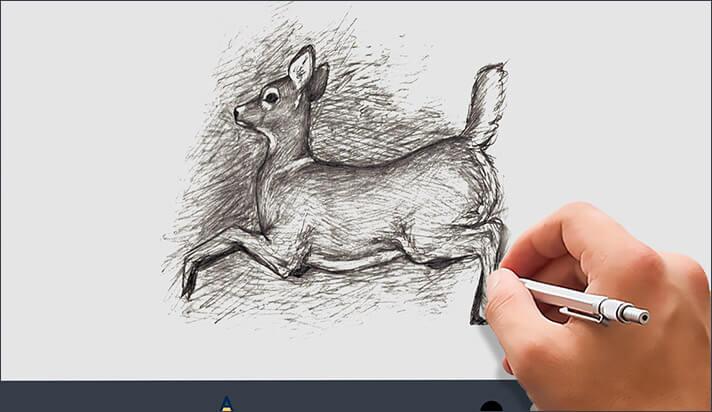 Doodle Art HD iPhone and iPad App Screenshot