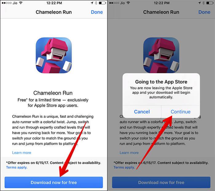 Download Chameleon Run on iPhone