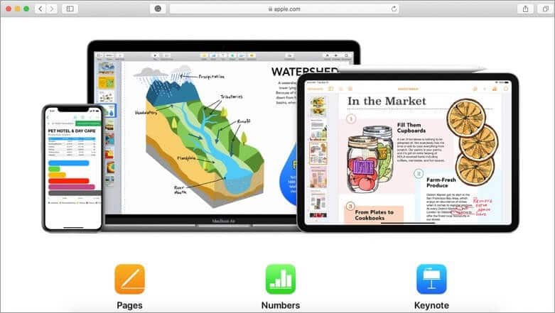 Download iWork Suite for Mac