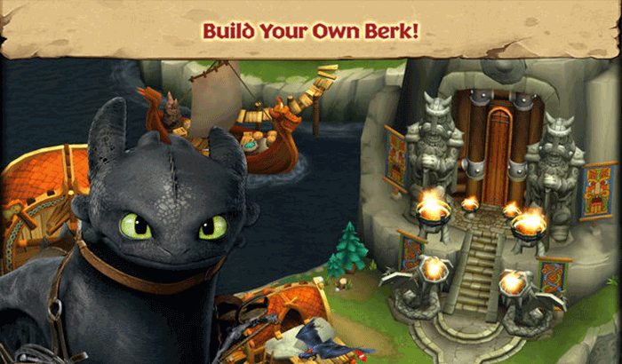 Dragons - Rise of Berk iPhone and iPad Game Screenshot