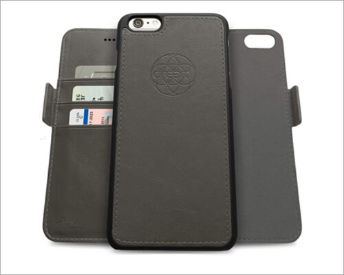 Dreem iPhone 6 6s Fibonacci Magnetic TPU Leather Case