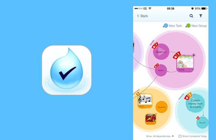 DropTask iPhone Task Management App