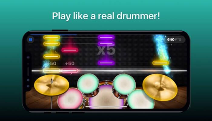 Drums iPhone and iPad App Screenshot