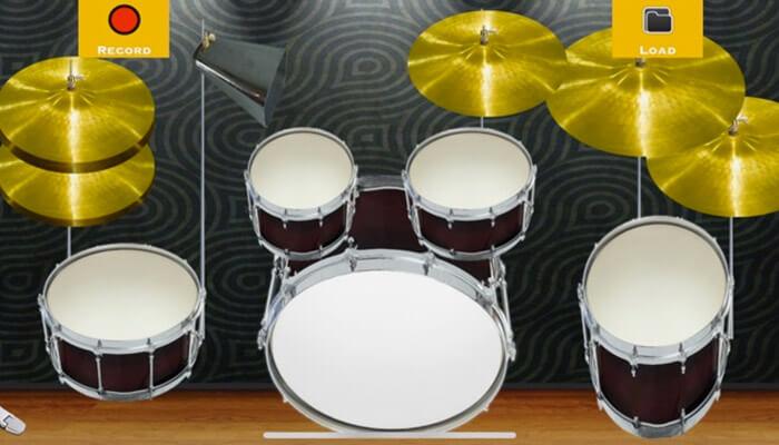 Drums with Beats iPhone and iPad App Screenshot