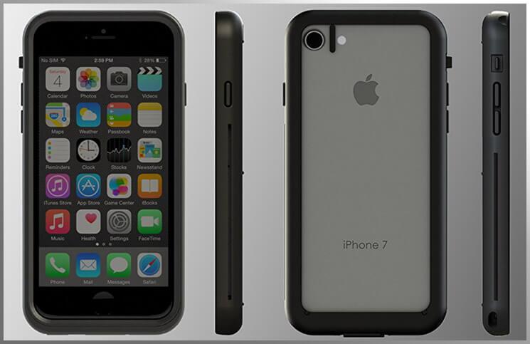 Dry Skinz iPhone 7 Waterproof Case