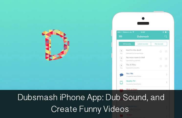 Dubsmash iPhone and iPad App