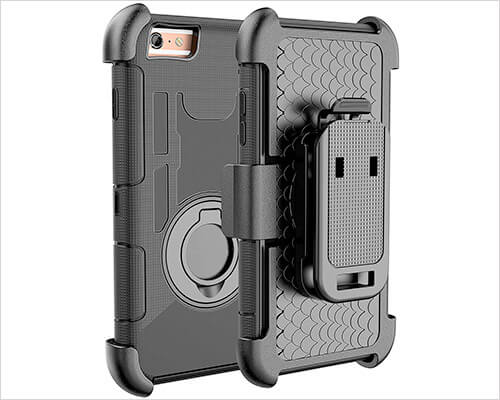 E LV iPhone 6s Belt Clip Holster Case