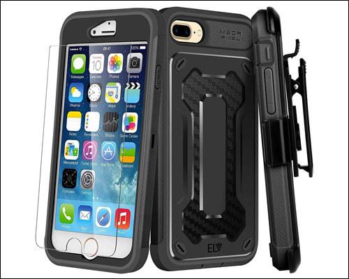 E LV iPhone 7 Plus Belt Clip Case