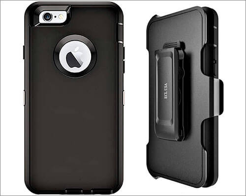 ECL USA Belt Clip Holster Case for iPhone 6s Plus