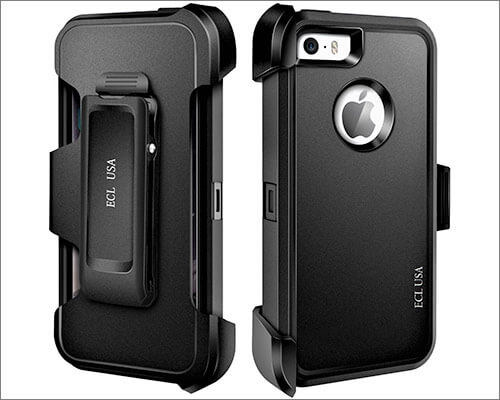ECL USA iPhone 5s, iPhone SE Belt Clip Case