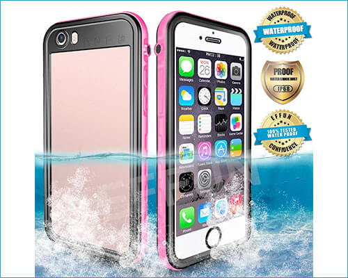 EFFUN Waterproof Case for iPhone 6-6s Plus