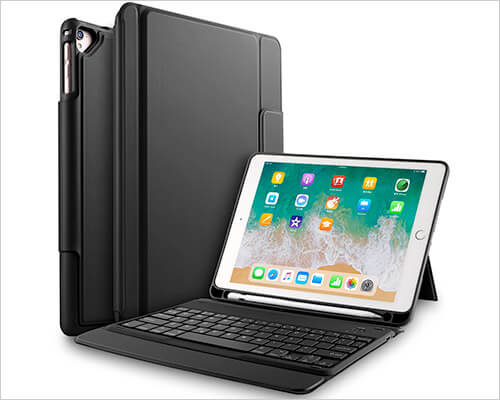 ELTD One-Piece Keyboard Case for iPad 10.2-inch