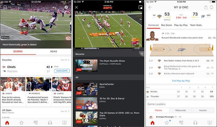 ESPN FIFA iPhone and iPad App Screenshot