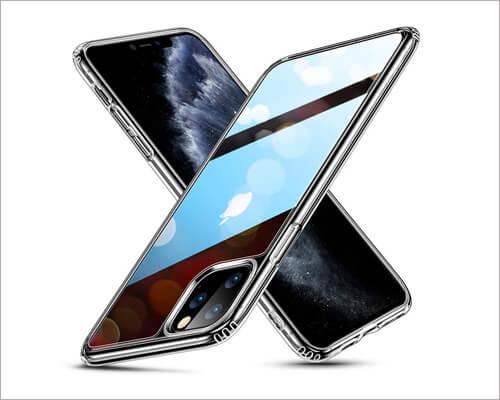 ESR Mimic iPhone 11 Pro Bumper Clear Executive Wallet Case