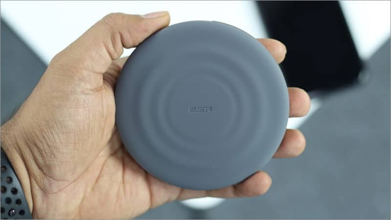ESR Portable Wireless Charger in Hand
