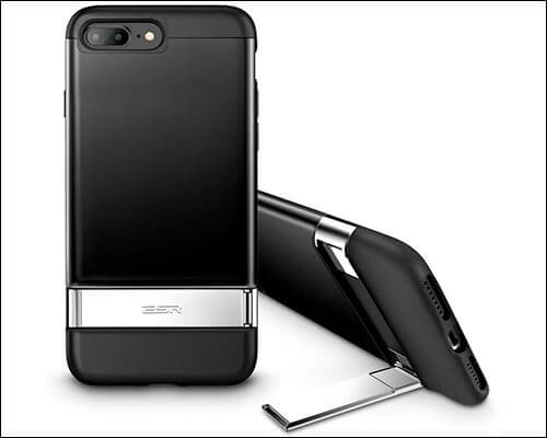 ESR iPhone 8 Plus Wireless Charging Support Case with Kickstand