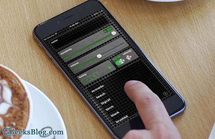 EZTrigger Music App for iPhone