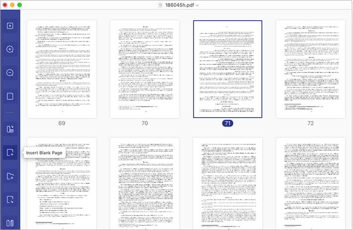 Easy Organize Pages in PDF File using PDFelement 7 on Mac