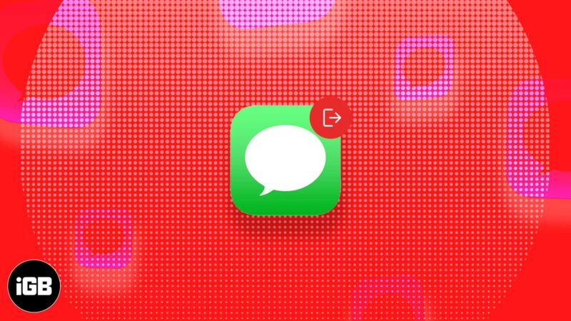 Easy fixes for 'iMessage is signed out' error on iPhone