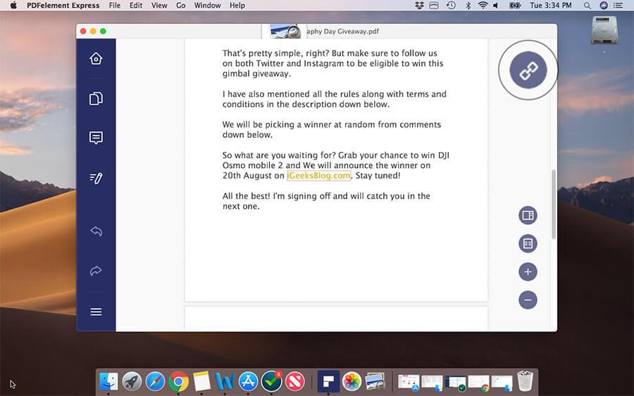 Edit Links in PDF File on Mac