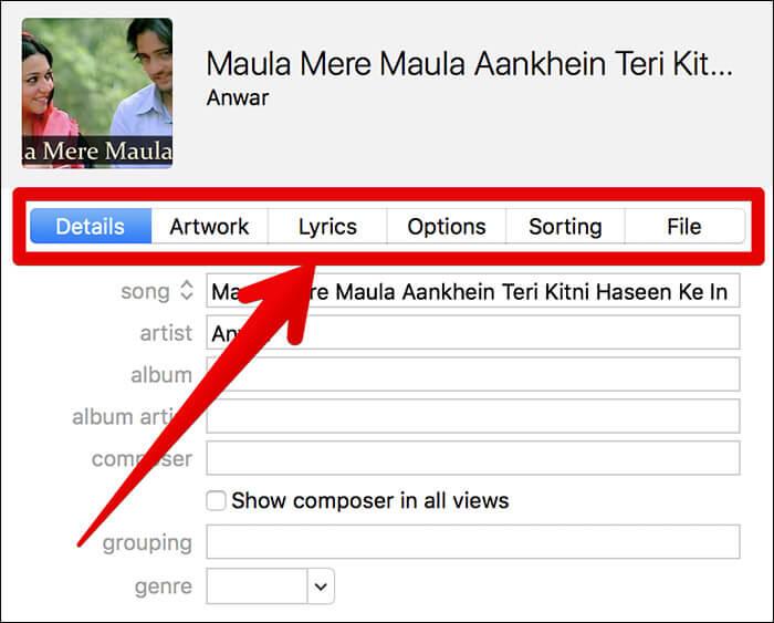 Edit Music Metadata in iTunes on Windows PC or Mac
