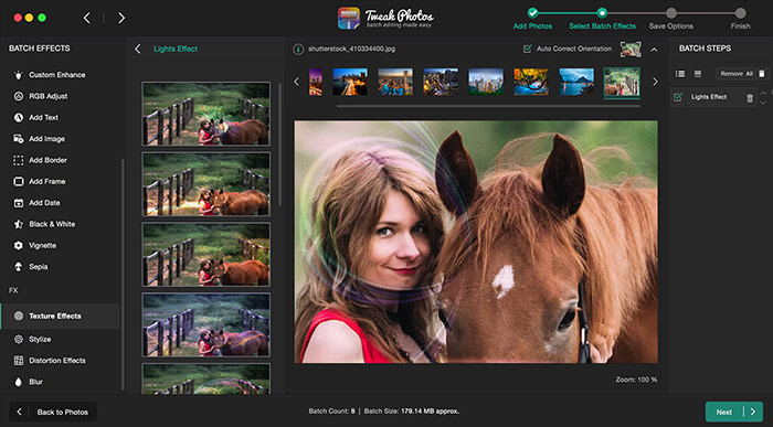 Edit Photo with Tweak Photos