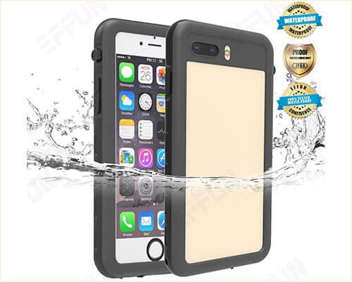 Effun Waterproof Case for iPhone 8 Plus