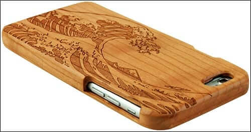 Eimolife SunSmart Bamboo Case for iPhone 6 Plus