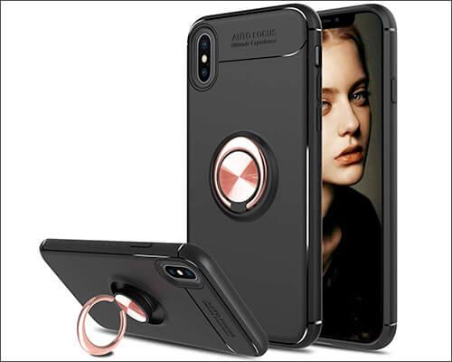 Elegant Choise iPhone Xs Max Ring Case