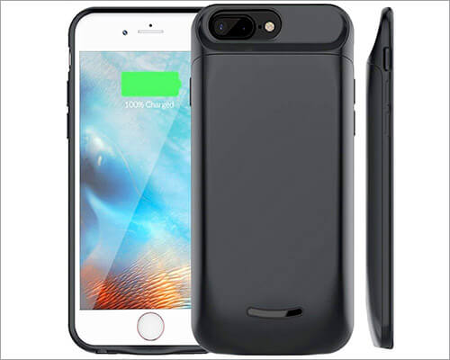 Elzle Battery Case for iPhone 6-6s Plus