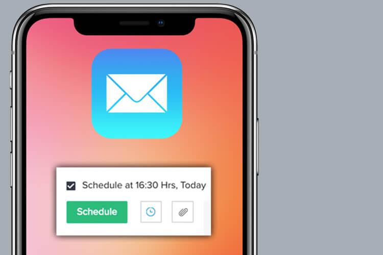 Email Schedule Siri Shortcut