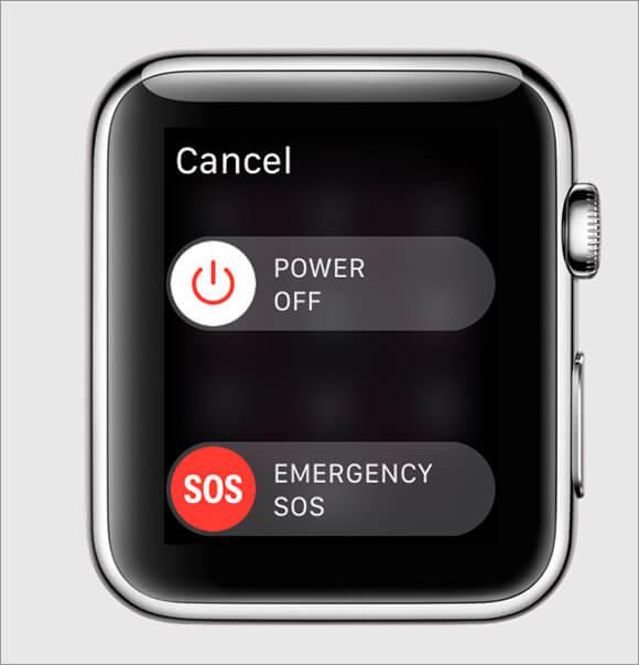 Emergency SOS in Apple Watch