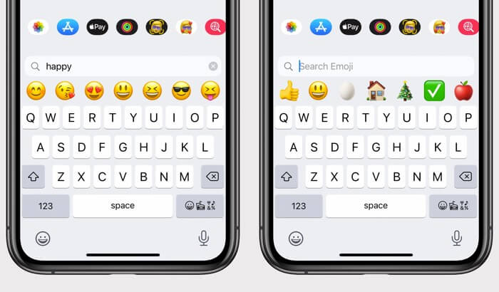 Emoji Search Feature in iOS 14 on iPhone