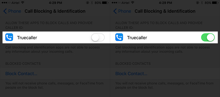 Enable Call Blocking & Identification Using Truecaller on iPhone