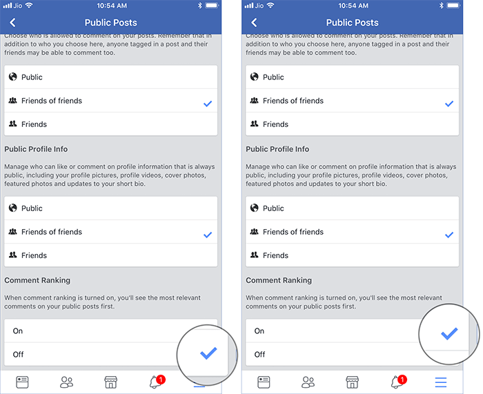 Enable Comment Ranking for Facebook Posts on iPhone, iPad, and Android