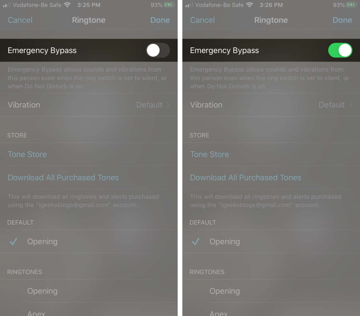 Enable Emergency Bypass for FaceTime Calls on iPhone