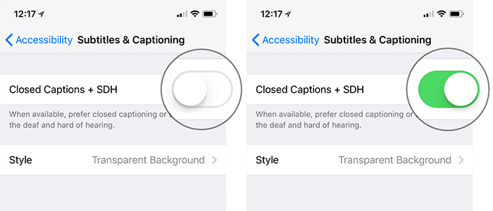 Enable Subtitles & Captions on Facebook from iPhone or iPad