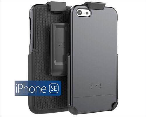 Encased Belt Clip Holster Case for iPhone SE