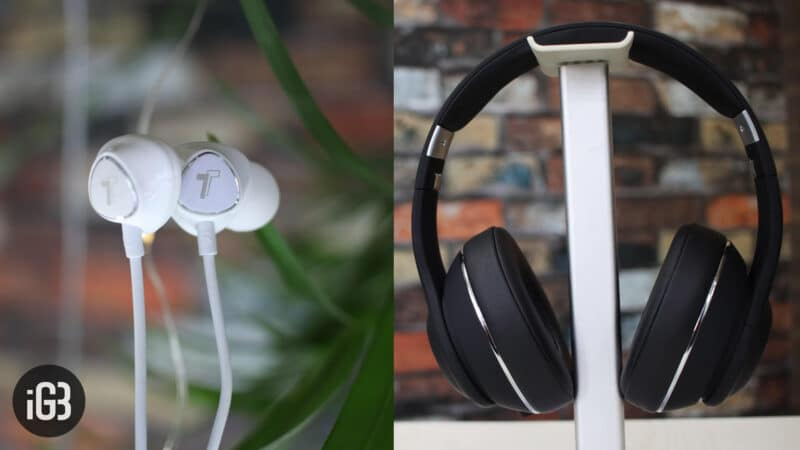 Encased Bluetooth and Lightning Headphones for iPhone Xs Max, Xs, and iPhone XR