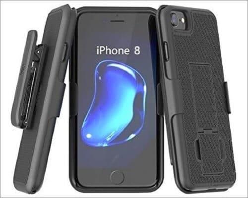 Encased Slim Kickstand Case for iPhone SE 2020