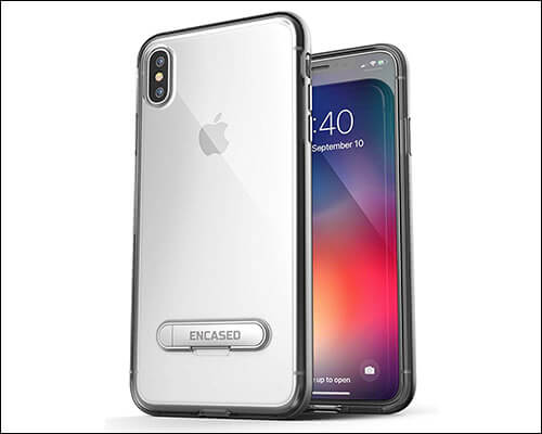 Encased Ultra Slim Fit Kickstand Case for iPhone Xs Max