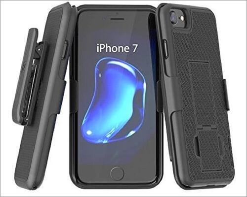 Encased iPhone 7 Slim Grip Kickstand Case