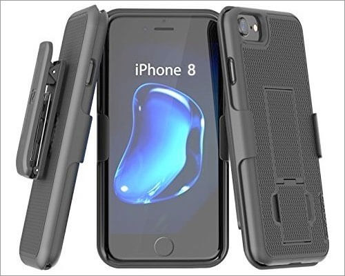 Encased iPhone 8 Belt Clip Case