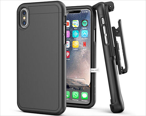 Encased iPhone X-Xs Belt Clip Holster Case