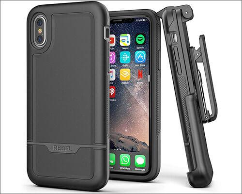 Encased iPhone XS MAX Belt Clip Holster Case