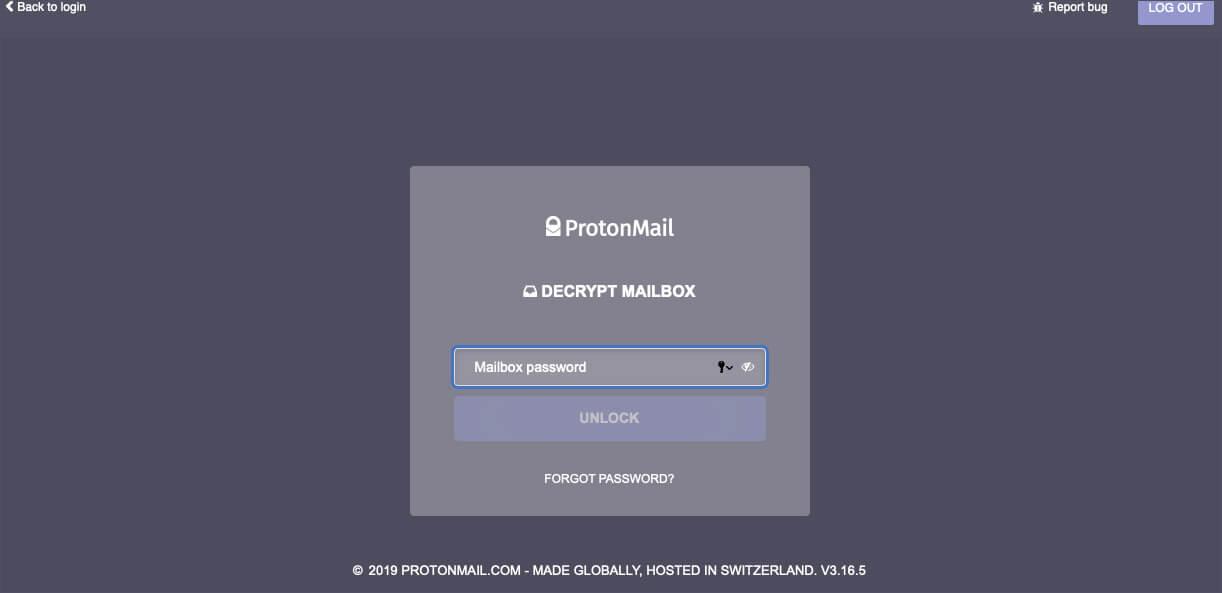 Encrypt ProtonMail