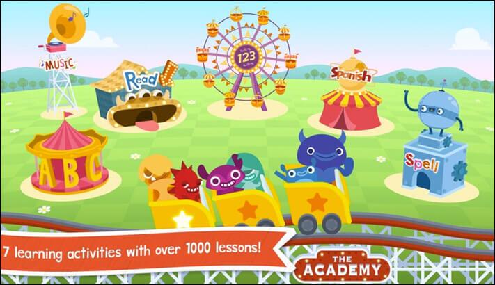 Endless Learning Apple TV Educational App Screenshot