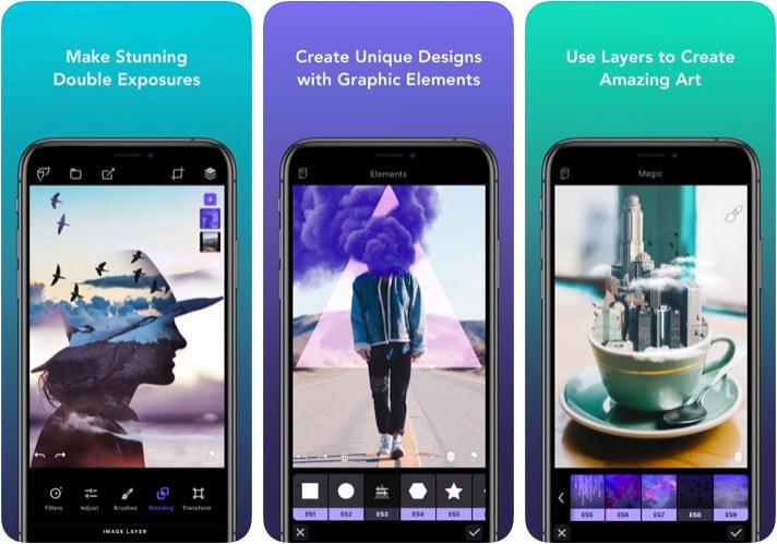 Photofox - Photo Editor iPhone and iPad App Screenshot